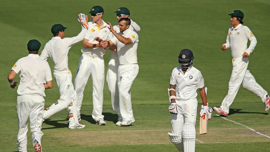 Ind vs Aus Test 19.12.14